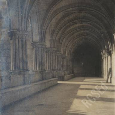 Cloister at Royaumont Abbey