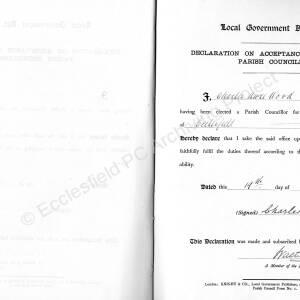 Declarations Of Parish Councillors 052