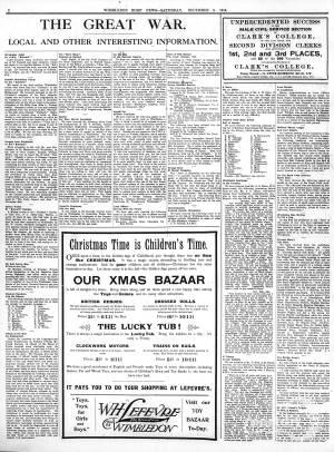 5 DECEMBER 1914