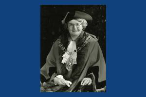 Alderman Mrs J C Ericson, Mayor 1949-50
