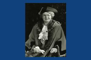 Alderman Mrs J C Ericson, Mayor 1949-50