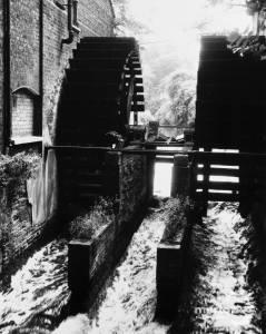 Morden Hall Snuff Mills,  Morden: Waterwheels.