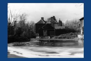 Millers Cottages, Mitcham Bridge.