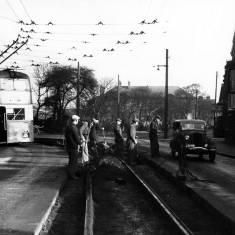 Removal of tram lines Dean Road, Westoe