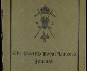12th Lancers, 1909 September