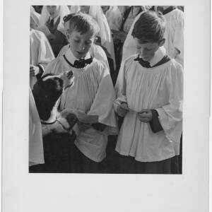 143 - Two choir boys at Holy Trinity Pet Service