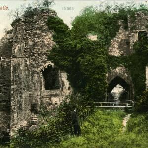 POP024 Goodrich Castle, Forest of Dean, no 10366, c1908.jpg