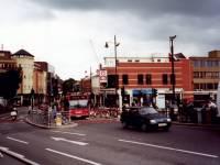Broadway, Wimbledon: looking towards Wimbledon Hill Road