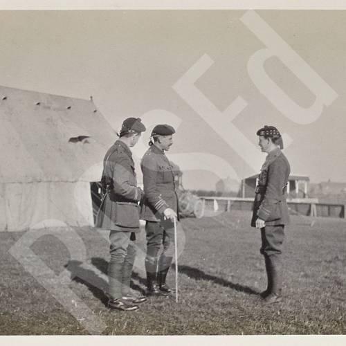Major Richardson, Captain Brown and Captain Verel