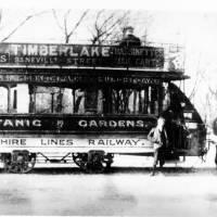 Botanic Gardens tram, Cheshire lines railway