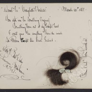 Autograph Album of Nurse E.M. Wallace