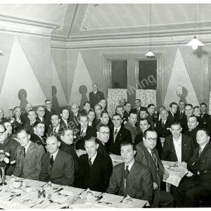 Chapeltown and District Cricket League Annual Dinner 1952 a.