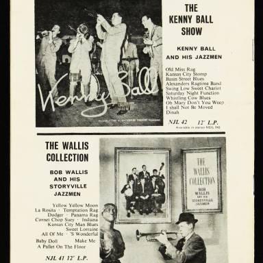 Chris Barber's Jazz Band with Ottilie Patterson, National Jazz Festival, Richmond - 1962 011