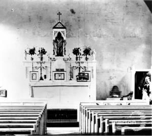 Altar of St Peter & Paul Roman Catholic church, Mitcham
