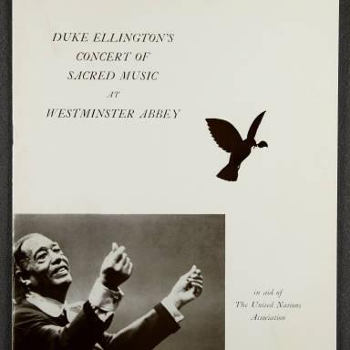 Duke Ellington Orchestra 'Sacred Concert' – Westminster  Abbey 24th   October 1973 004