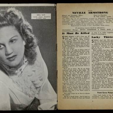 British Songwriter & Dance Band Journal Vol.9 No.6 May 1947 0002