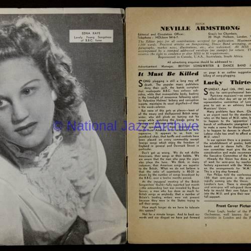 British Songwriter & Dance Band Journal Vol.9 No.6 May 1947 0002