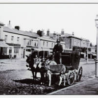 An Early view of Lord Street Southport