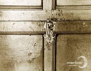 Interior wooden door, Cannizaro House, Wimbledon