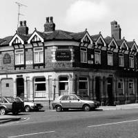 """The Railway"" public house, Bridge Road, Litherland, 1987"