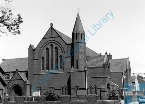 St. Matthew's Parish Church, Stanley Road, Bootle, 1987