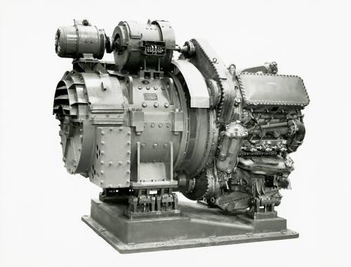 Deltic 9 engine: Napier