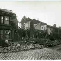 Benedict Street, bomb damage, Blitz