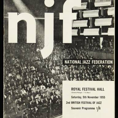 National Jazz Federation, Royal Festival Hall - 1955
