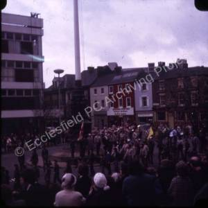 105th Sheffield (High Green) Scouts St. George's Day Parade 1975 (1)