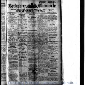 Berkshire Chronicle Reading 11-1918