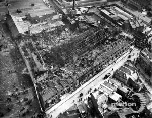 Messrs Bush & Co., Mitcham: Explosion