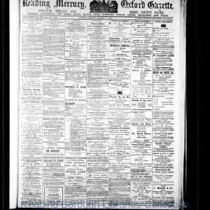 Reading Mercury Oxford Gazette 01-1914