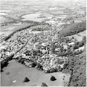 Li13836 Ledbury Aerial View 1986.jpg