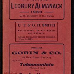 Tilley's Ledbury Almanack 1960