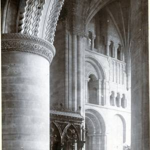 Cathedral, arcading in South Transept