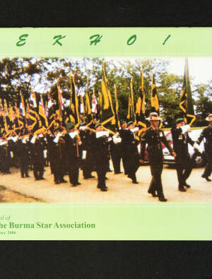 DEKHO! The Journal of The Burma Star Association - Issue No. 154, Year 2006