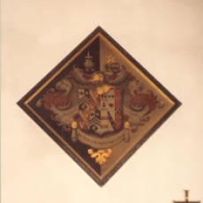 Hatchment of Humphrey Gibbs Brandreth (1807 - 1864) in All Saints Church Houghton Regis