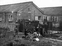 London Road, Hackbridge: Gun-site huts