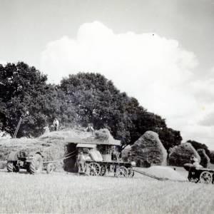 Threshing in Herefordshire c1939