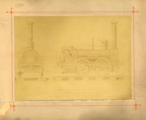 'Comet' locomotive engine