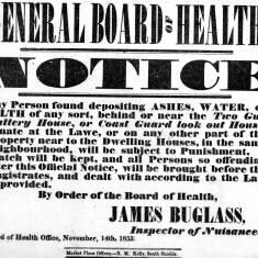 General Board of Health Notice