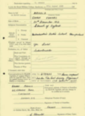 RMC Form 18A Personal Detail Sheets Aug 1935 Intake - page 12