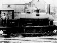LSWR No. 330 at Wimbledon Station