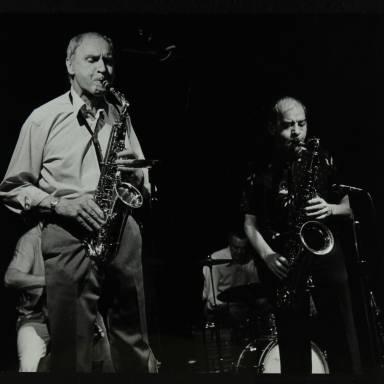 Bruce Turner, Derek Hogg and John Barnes (left to right)