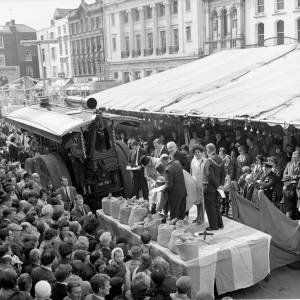 Opening Ceremony of the 1968 Hereford May Fair