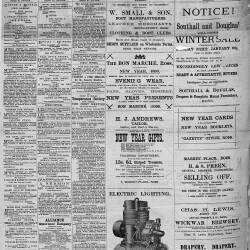 Ross Gazette - 1890