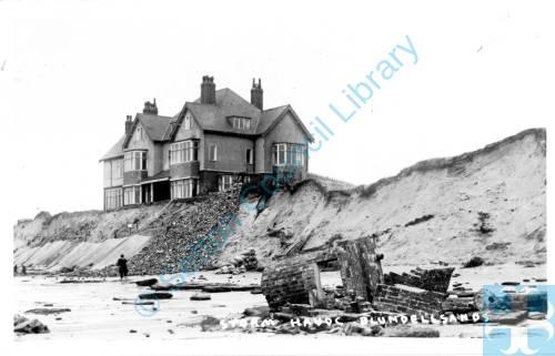 Coastal erosion, Blundellsands