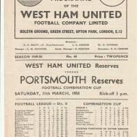 19490311 West Ham United Away