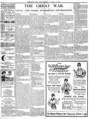 31 OCTOBER 1914