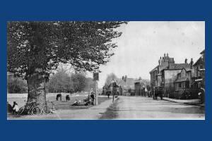 Causeway, Mitcham: Old House's